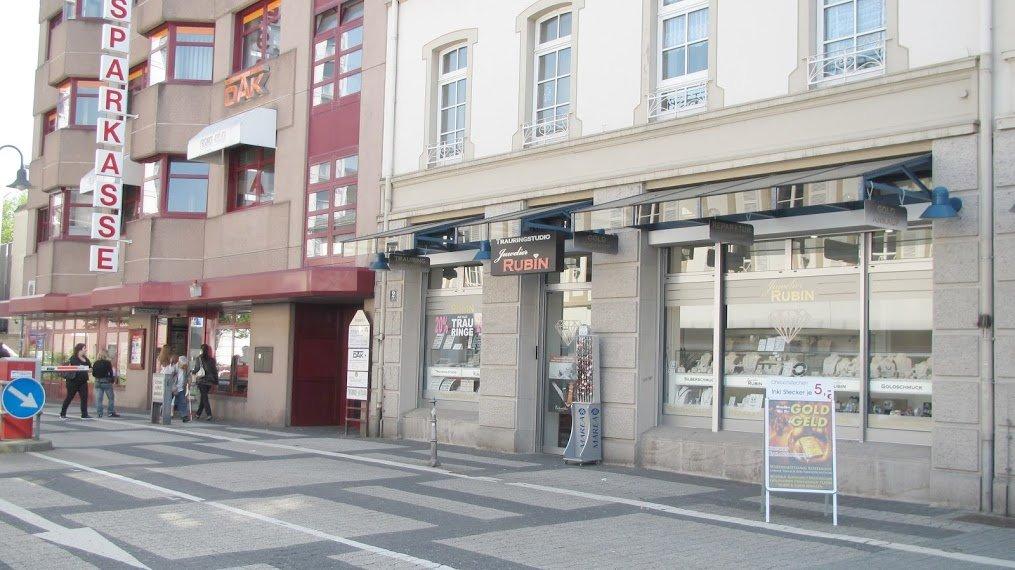 Juwelier Rubin Limburg - Außenansicht